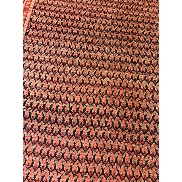 Antique Persian Seraband Gallery Carpet - Image 2 of 4