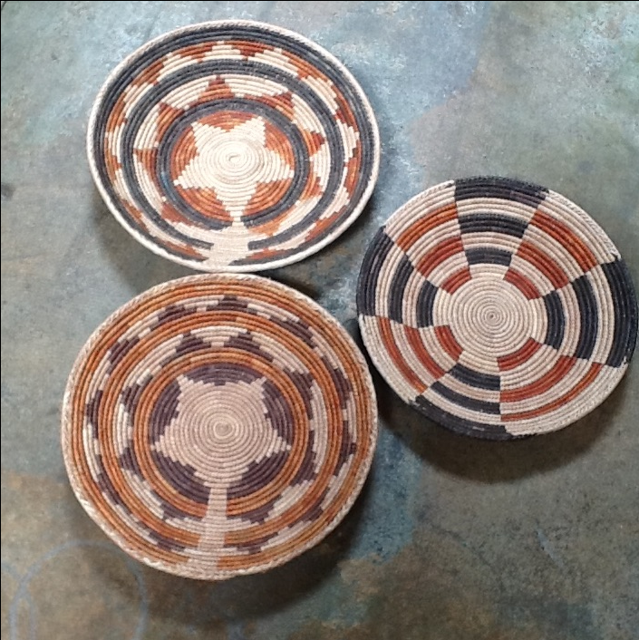 African Tribal Bowls - Set of 3 - Image 2 of 6 & African Tribal Bowls - Set of 3 | Chairish