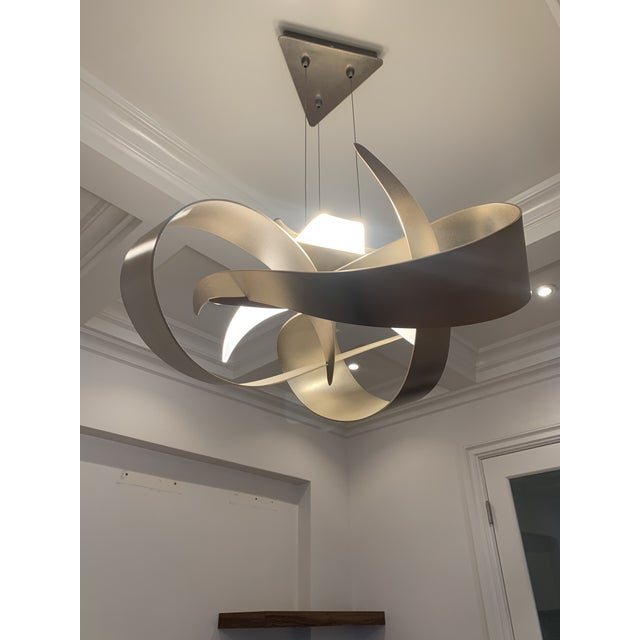 LED Hubbardton Forge Large Led Pendant Light For Sale - Image 7 of 7