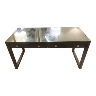 Modern Style Hickory White Keen Writing Desk For Sale