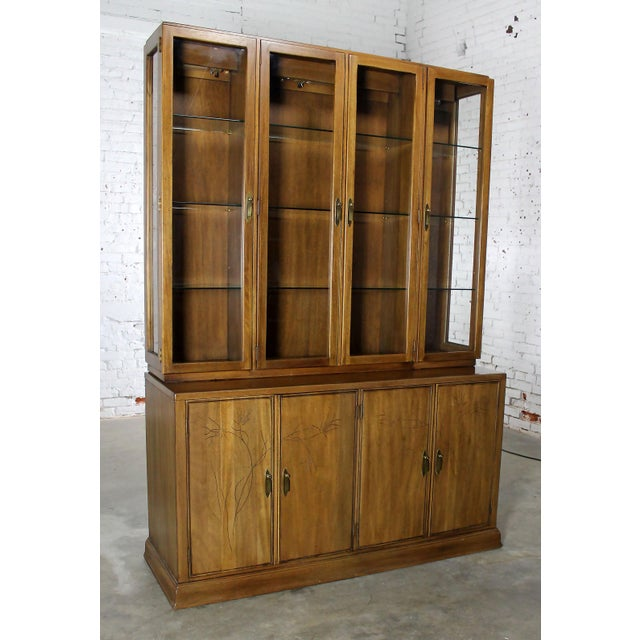 Davis Cabinet Company Davis Cabinet Company Lighted Display Cabinet For Sale - Image 4 of 11
