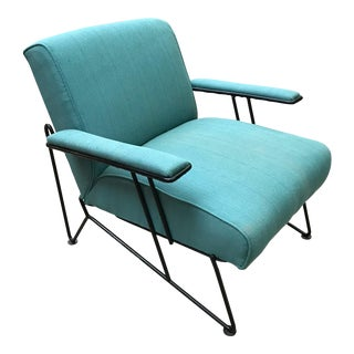 1950s Sculptural Lounge Chair by Dan Johnson for Pacific Iron For Sale