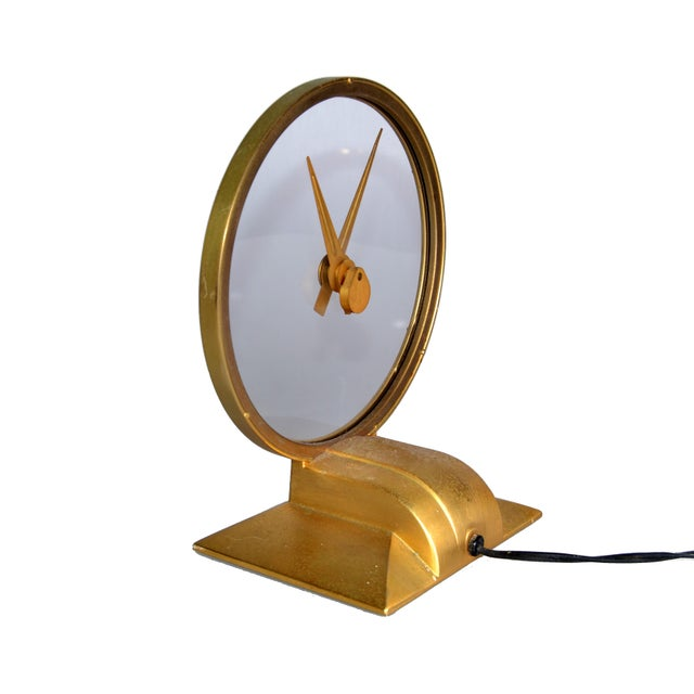 Jefferson Golden Hour Electric Clock For Sale - Image 4 of 7