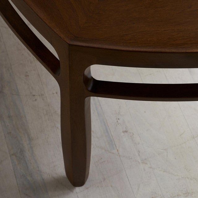Mid-Century Modern Edward Wormley for Dunbar, Janus Coffee Table For Sale - Image 3 of 7