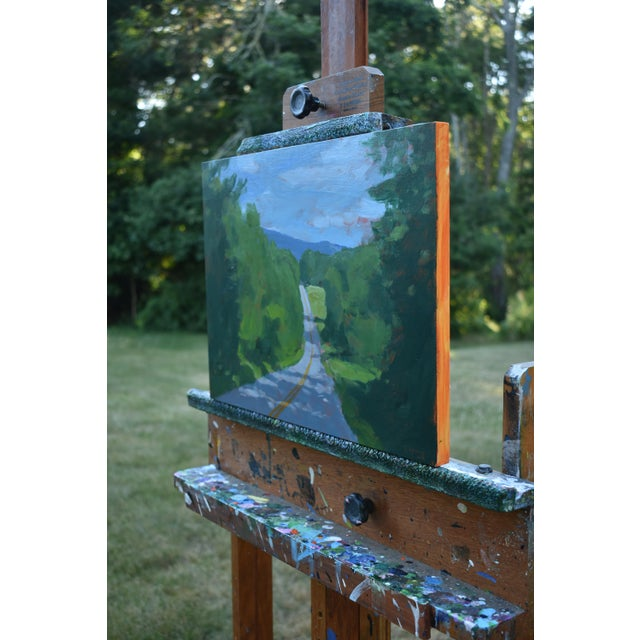 """""""Back Road in Vermont"""" Painting by Stephen Remick For Sale In Providence - Image 6 of 11"""