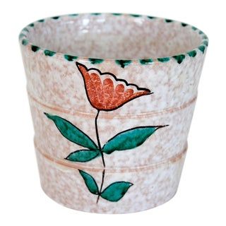 Small Italian Pottery Planter For Sale