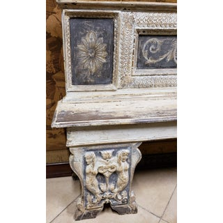 All Original. Spectacular 18th Century Tuscan Renaissance Bench Preview