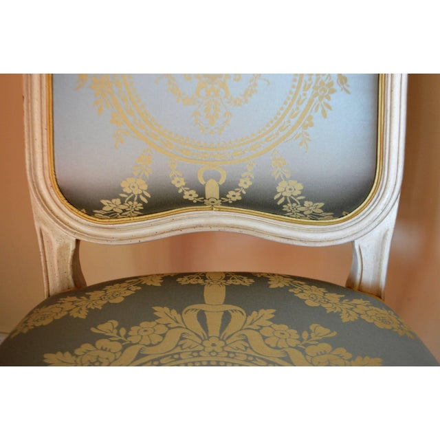 Louis XV Style Dining Room Chairs for Custom Order For Sale - Image 4 of 11