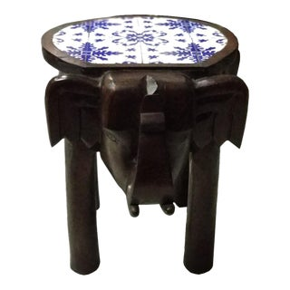 Indian Elephant Side Table