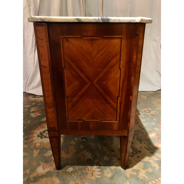 Late 19th Century Italian 19th Century Two Drawer Commode For Sale - Image 5 of 8