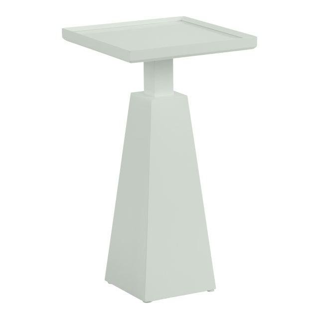 Casa Cosima Hayes Spot Table, Gray Cashmere For Sale