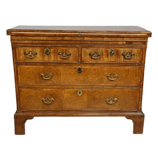 George II Walnut Bachelors Chest For Sale