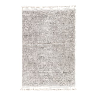 Jaipur Living Katya Light Gray Area Rug - 5′ × 8′ For Sale