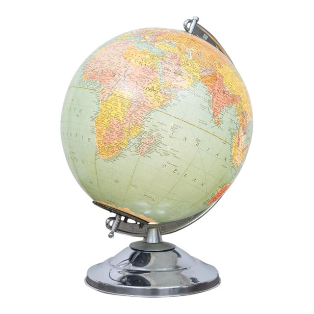 Illuminated Replogle Library Globe - Image 1 of 9