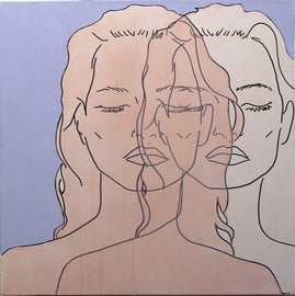 Image of Peach Paintings