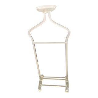 Contemporary Lucite Valet Stand For Sale