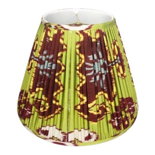"Slightly East Lola Hand-Shirred Empire Lampshade 18"" For Sale"