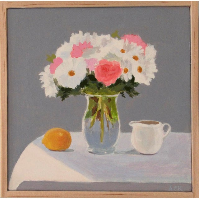 Bouquet, Lemon and Creamer by Anne Carrozza Remick For Sale In Providence - Image 6 of 6