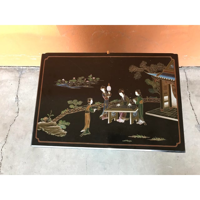 Chinese Lacquer Bar Cabinet For Sale In Portland, OR - Image 6 of 7