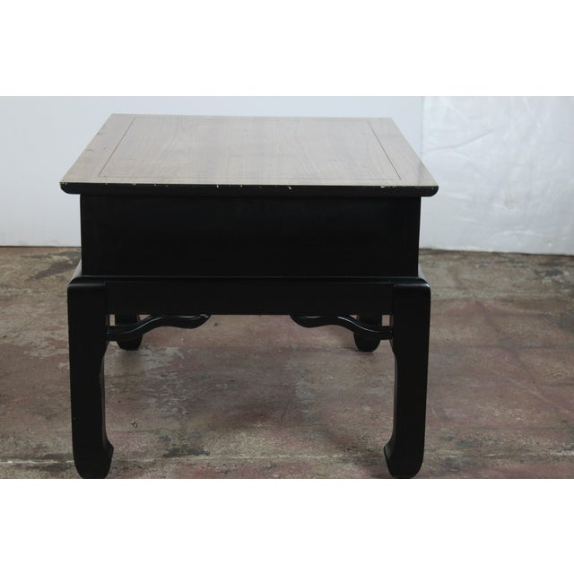 Gold 1970s Asian Style End Tables - a Pair For Sale - Image 8 of 9