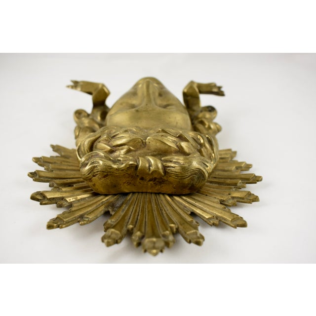 French Ormolu Louis XVI Fragment, The Sun King Head For Sale In Philadelphia - Image 6 of 11