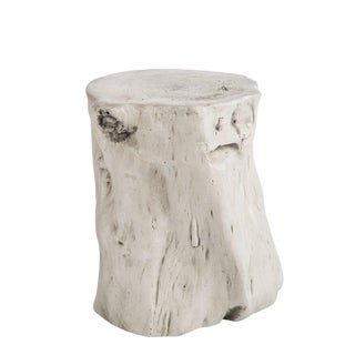 Statements By J Mia White Log Stool