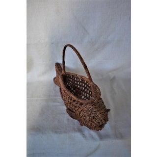 1970s Vintage Fish Basket Preview
