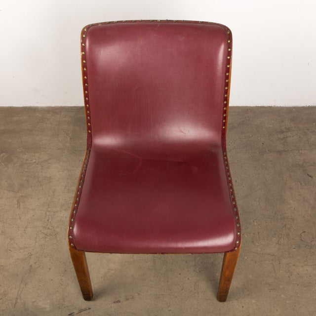 Bill Stephens for Knoll Bent Wood Dining Chair For Sale - Image 11 of 13