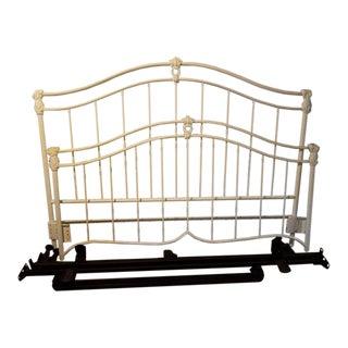 Elliot Design Inc. White Iron/Metal Bedframe
