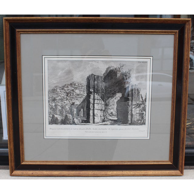 Italian Theater of Balbus Engraving by Piranesi For Sale - Image 3 of 5