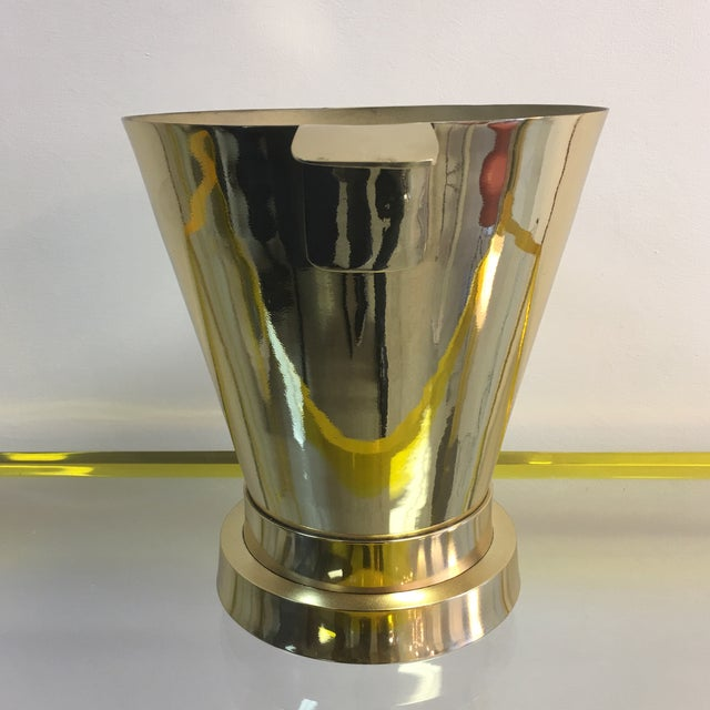 1940's Art Deco Brass Ice Bucket - Image 2 of 7