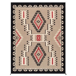 """Pasargad Home Navajo-Style Wool Area Rug- 9' 2"""" X 11'11"""" For Sale"""