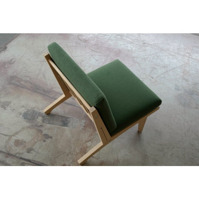 Wood Hans Wegner Easy Chair Model GE370 for GETAMA, 1960s For Sale - Image 7 of 10