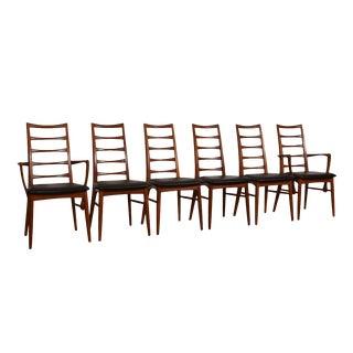 Koefoeds Hornslet Danish Teak Dining Chairs - Set of 6 For Sale