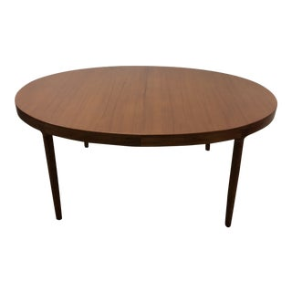 1960s Danish Modern Harry Ostergaard Dining Table For Sale