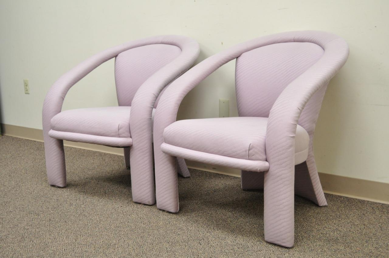 Mid Century Modern Pair Of Vintage Carsonu0027s Sculptural Mid Century Modern  Lounge Arm Chairs Kagan