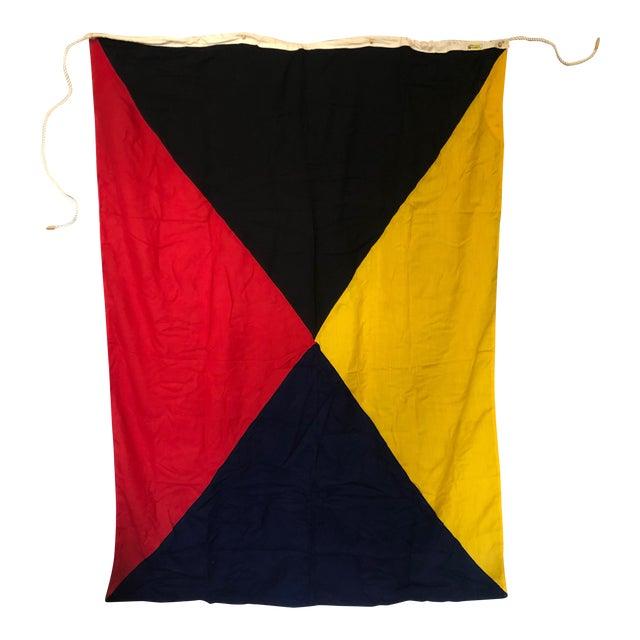 """Z"" Maritime Signal Flag For Sale"