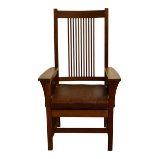 Stickley Mission Dining Armchair