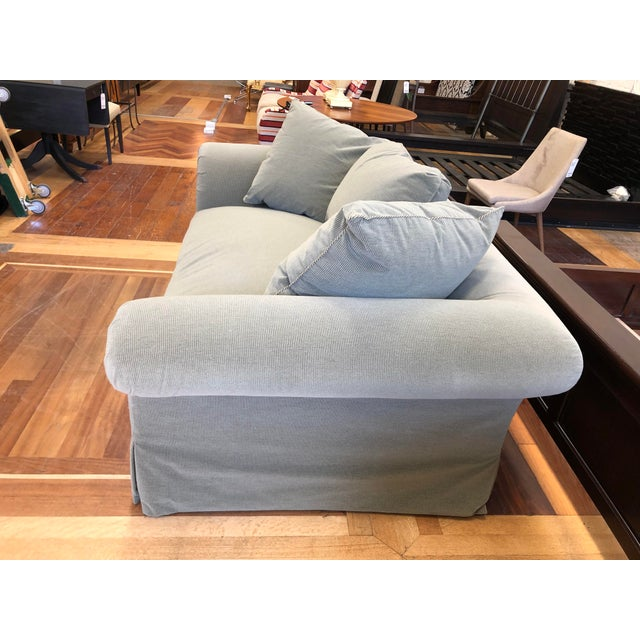 A.Rudin Rolled Arm Lounge Sofa For Sale In San Francisco - Image 6 of 13