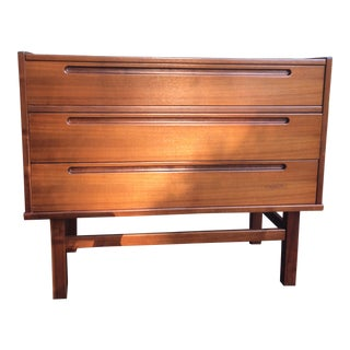 1970s Vintage Danish Modern Nils Jonsson Chest Of Drawers For Sale