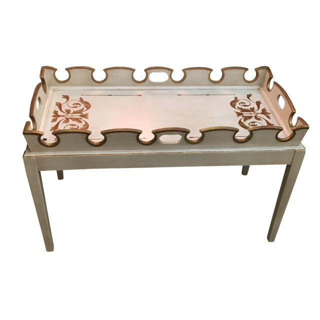 Amy Howard Painted Coffee Table - Image 1 of 4