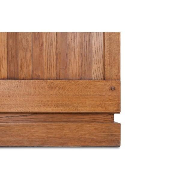 Oak Minimalist Natural Oak Bar Cabinet For Sale - Image 7 of 12