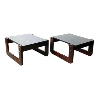 1970s Percival Lafer Brazilian End Tables - a Pair For Sale