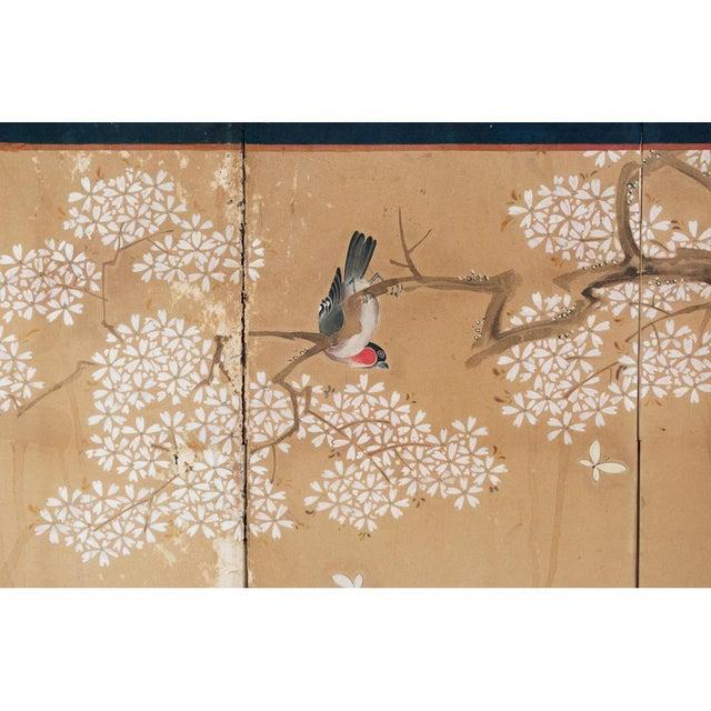 17th-18th C. Japanese Twelve-Panel Byobu Screen For Sale - Image 11 of 13
