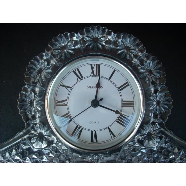 Traditional Glass Mantle Clock - Image 4 of 5
