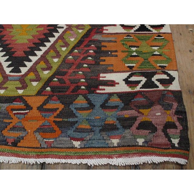 Textile Eshme Kilim For Sale - Image 7 of 10
