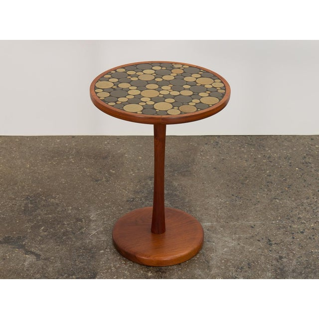 1960s 1960s Martz Coin Tile Side Table For Sale - Image 5 of 11