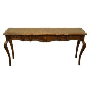 20th Century Italian Hekman Furniture Lexington Console Table For Sale