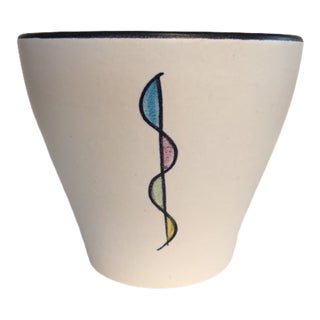 1950s Mid-Century Modern Bay Keramik Pot For Sale