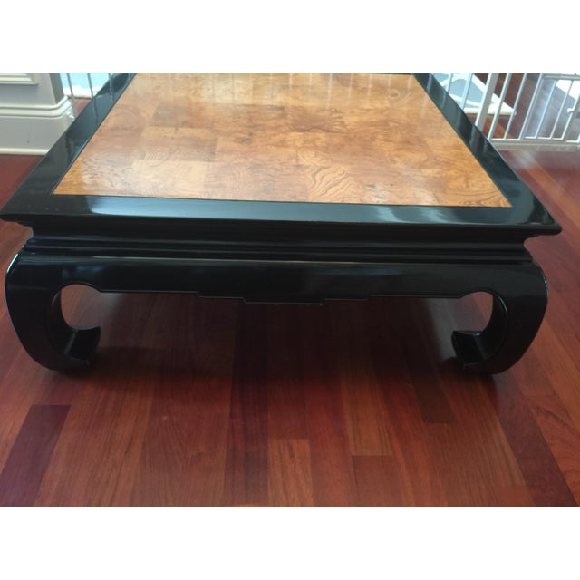 Ethan Allen Chinoiserie Coffee Table - Image 3 of 10